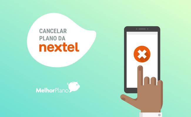 nextel cancelamento