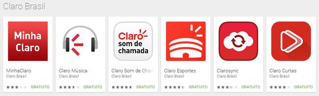 claro apps brasil