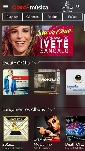 Claro Música App