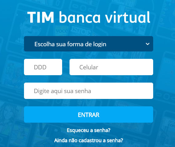 tim banca virtual pc