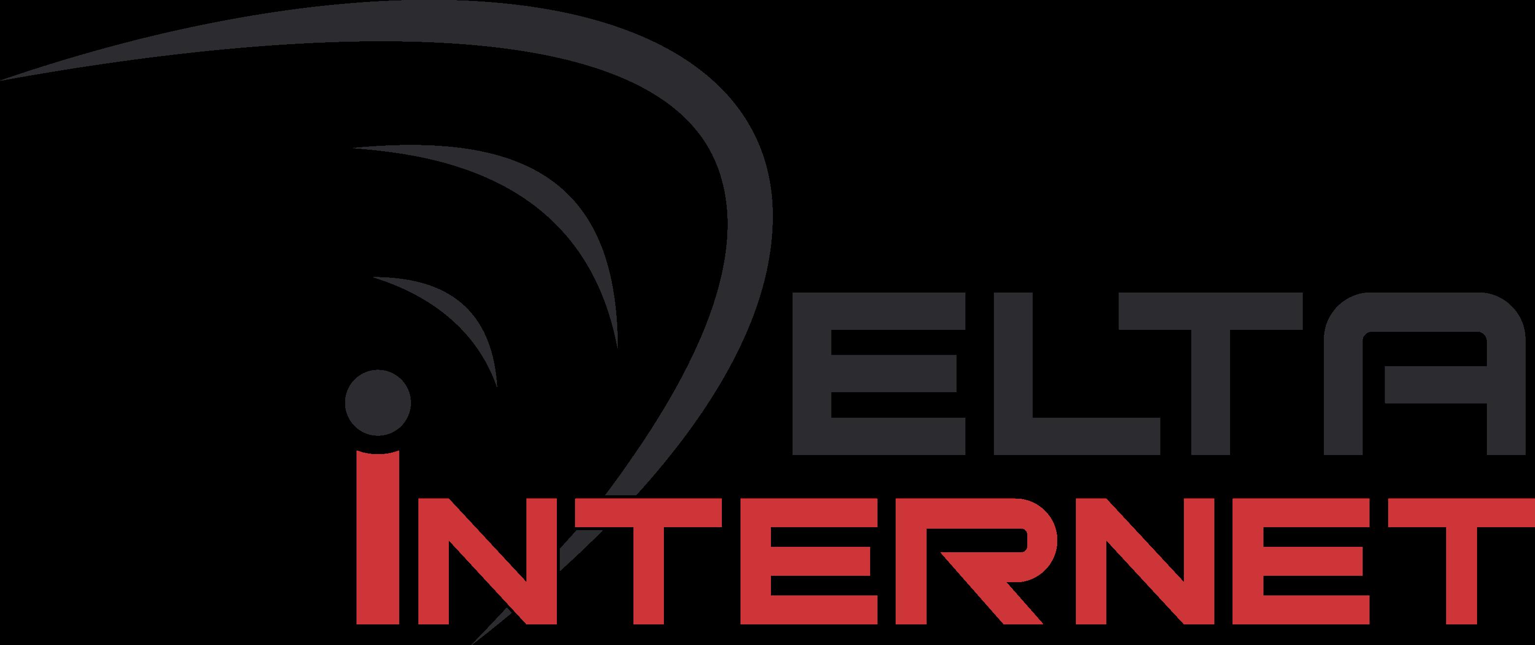 Logo delta internet
