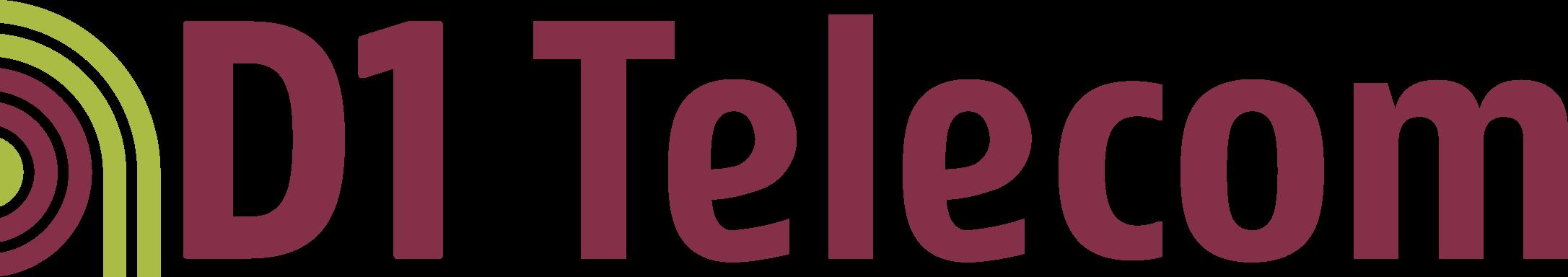 Logo d1 telecom