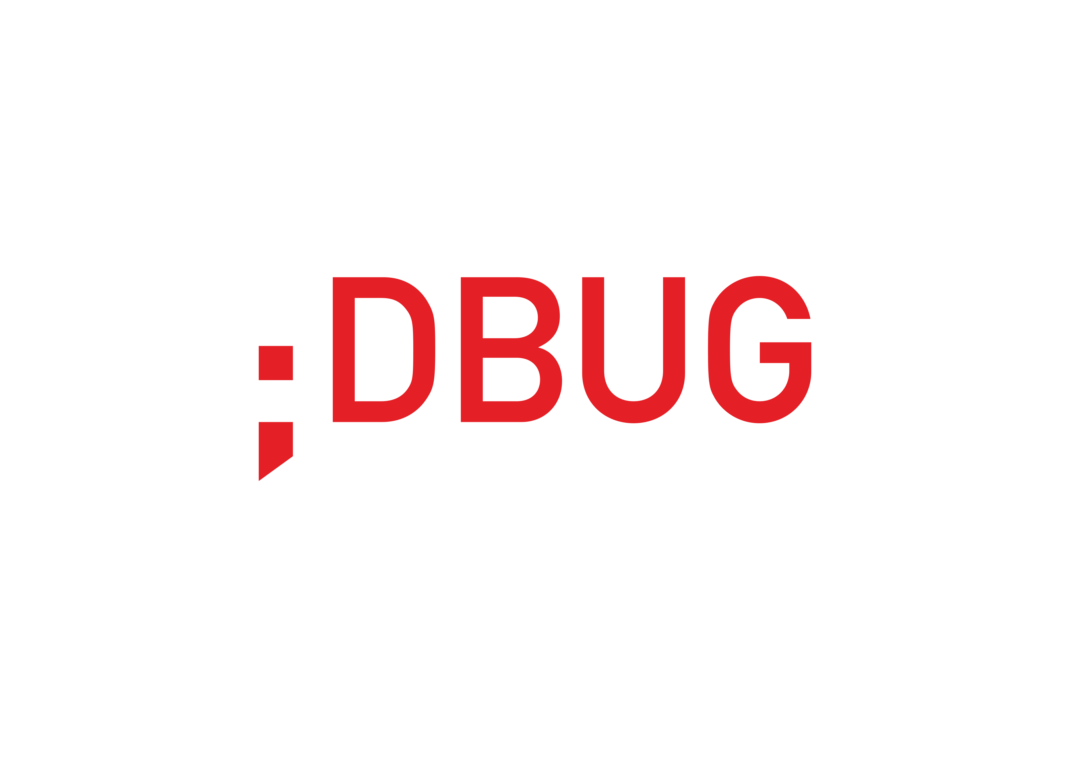 Logo dbug