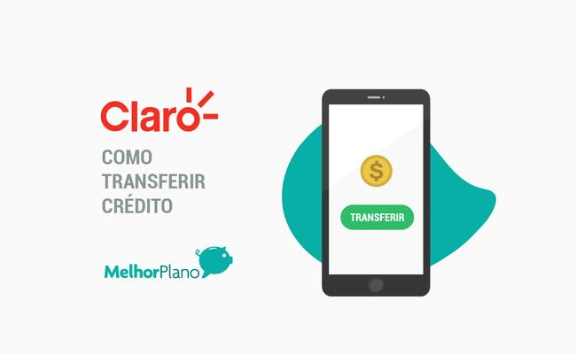 como transferir credito da claro