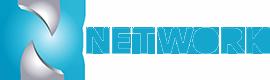 Logo network telecomunicações