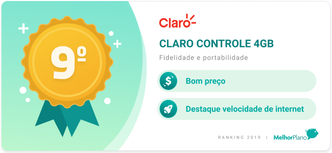 claro controle 4gb
