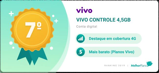 vivo controle 4,5gb