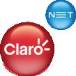 logotipo claro net fixo