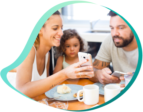 planos de celular família