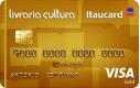 Cartão Livraria Cultura Itaucard Gold Visa