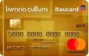 Cartão Livraria Cultura Itaucard Gold Mastercard