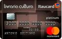 Cartão Livraria Cultura Itaucard Platinum Mastercard