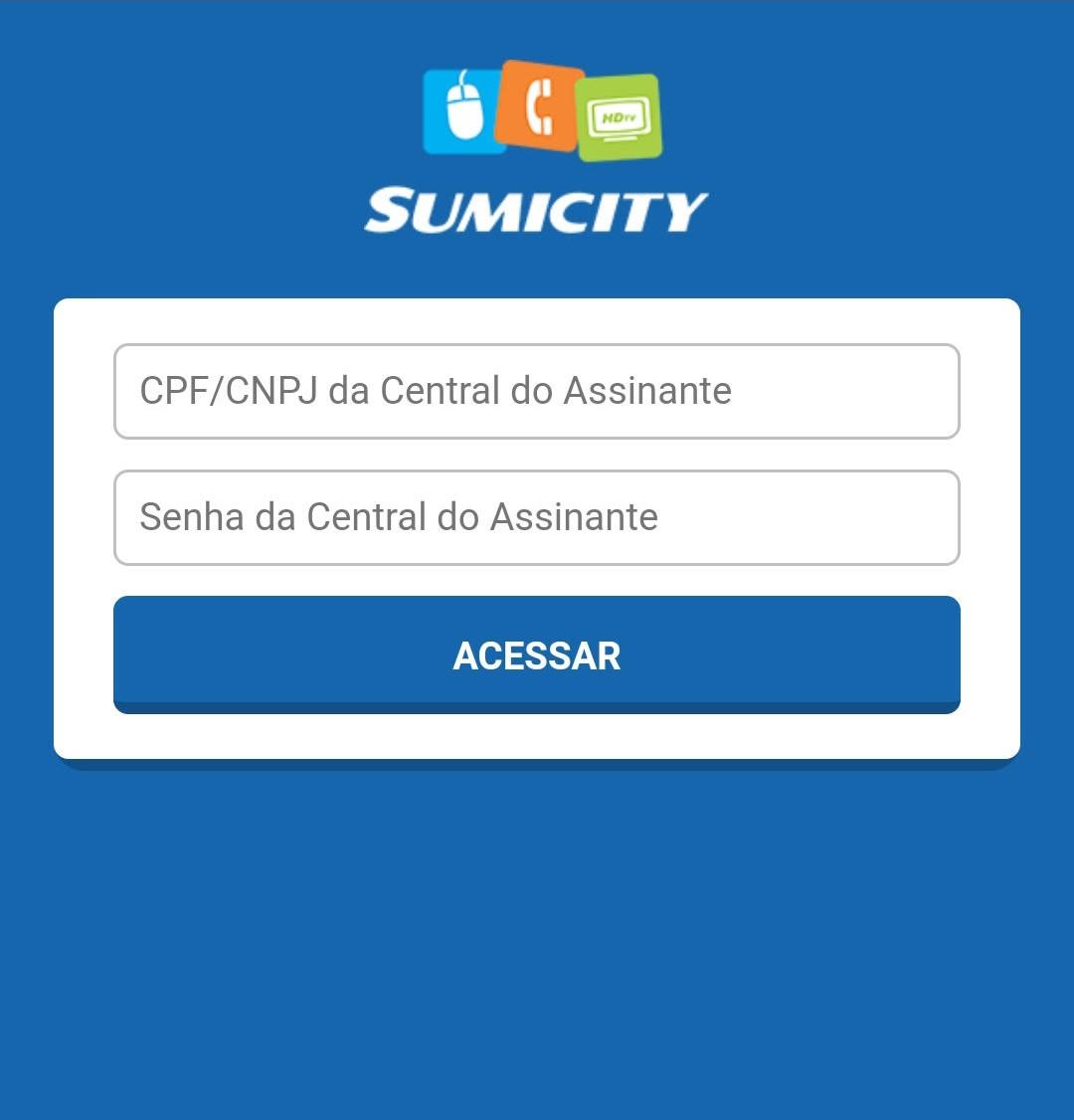 sumicity boleto central do assinante