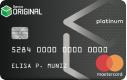 Cartão Original Platinum Mastercard