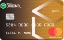 Cartão Original Gold Mastercard