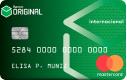 Cartão Original Internacional Mastercard