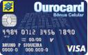 Cartão Ourocard Bônus Celular Internacional Visa