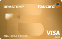 Cartão Brastemp Itaucard Gold Visa