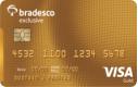 Cartão Bradesco Exclusive Visa Gold
