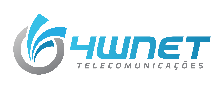 Logo 4WNET TELECOMUNICAÇÕES