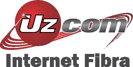 Logo UZCOM INTERNET FIBRA