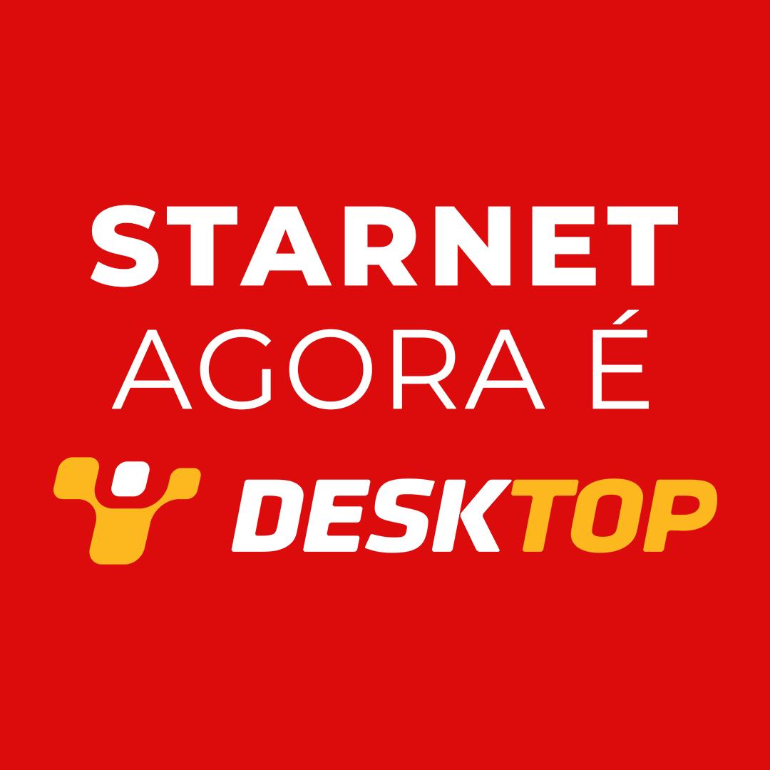 Logo Starnet agora é Desktop